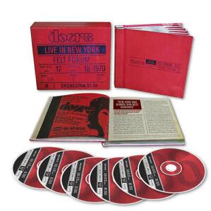 The Doors Live in New York, Felt Forum Box Set 6 cd Rhino