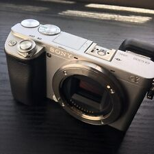 Sony Alpha A6300 24.2MP Digital Camera - Silver (Body Only) Gently Used!