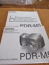Bedienungsanleitung für Digitalkamera Toshiba PDR-M5