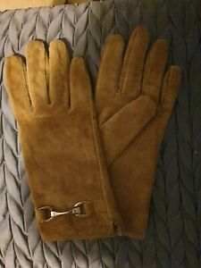 BJORN ENGLAND real Suede Leather Gloves