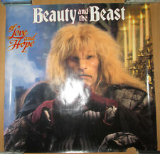BEAUTY & THE BEAST Of Love & Hope, Capitol promotional poster, 1989, 24x24, VG