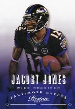 JACOBY JONES 2013 PANINI PRESTIGE FOOTBALL cartes à collectionner, #18