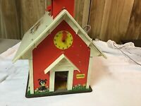 Vintage 1971 Fisher Price Little People Play Family #923 SCHOOL HOUSE