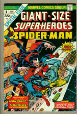 Giant Size Superheroes #1, Morbius, Man-Wolf, Spider-Man!