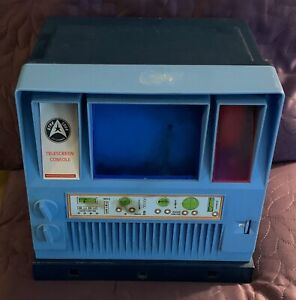 MEGO  STAR TREK  TELESCREEN CONSOLE  1976  INCOMPLETE BUT WORKING CONDITION