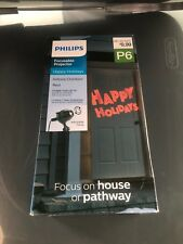 "Philips Motion Projector Indoor/Outdoor ""Happy Holidays"""