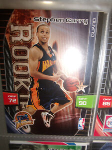 2009-10 Panini Adrenalyn XL Stephen Curry  rookie card