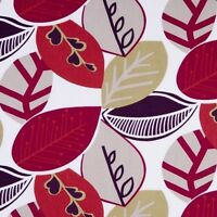 Clarke and Clarke Malena Summer Leaf Design Curtain Upholstery Craft Fabric