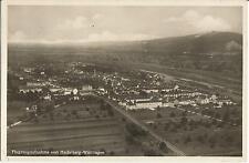Heidelberg-Wieblingen, Flugzeugaufnahme, Luftbild, Foto-Ansichtskarte von 1936