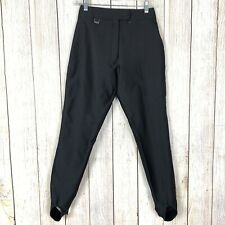 Fera Skiwear Women's Size 6L Black Rayon Nylon Blend Stretch Ski/Snowboard Pants