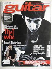 GUITAR MAGAZINE 2011/2 NR. 129 - THE WHO BALCK SABBATH CHILDREN OF BODOM INCL.CD