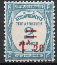 TIMBRE TAXE FRANCE année 1929/31 n°64 NEUF**