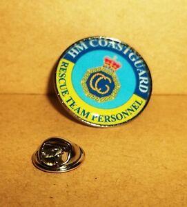 HM Coast Guard Lapel pin badge