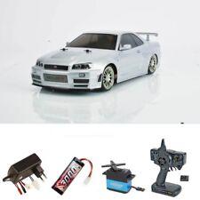 Tamiya nismo r34 GT-R Z-Tune tt-02d 1:10 Drift kit completo - 58605set