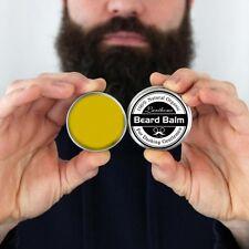 Heavy Duty Beard Balm Men Beard Hair Wax Balm Moisturizer Mustache Conditioner