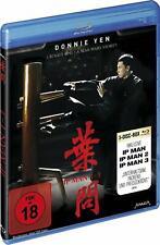 IP Man Parte 1 2 3 Trilogía Complete Colección Zero Final Fight 3 Blu-Ray Caja