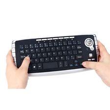 2.4G Mini Wireless Keyboard Multi-media Functional Trackball Air Mouse