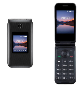 """ZTE Cymbal 2 - 4G LTE AT&T / T-MOBILE UNLOCKED 2.8"""" Flip Phone Smartphone"""