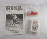 RISK Game of Global Domination 1999 Miscellaneous Parts /& Pieces Rule Book