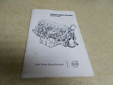 Volvo PU776-21100922 Operations Manual Suppliment *FREE SHIPPING*