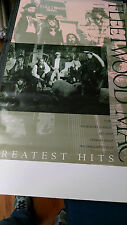 Fleetwood Mac  Greatest Hits  promotional record  store poster PBX40