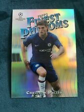 Christian Pulisic 2019-20 Topps Finest UEFA Champions League Phenoms Refractor