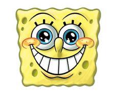 SpongeBob SquarePants Party Mask Card Fancy Dress TV Ladies Kids Smile