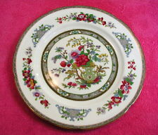 "Paragon (Tree of Kashmir - Mustard) 9 1/2"" LUNCHEON PLATE(s) scalloped (2 avail)"