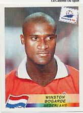 N°305 BOGARDE NEDERLAND NETHERLANDS PANINI WORLD CUP 1998 STICKER VIGNETTE 98