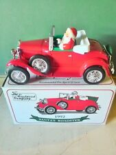 Eastwood 1992 Santa's Roadster Diecast Coin Bank 1/25 Scale
