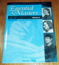 Essential Master Volume 2 from Essential Composer series edited by Avis Romm
