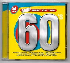 DOUBLE CD / MORE BEST OF THE 60'S / SIXTIES 36 TITRES