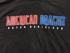 American Dragon Daniel Bryan Danielson 2XL XXL Ring of Honor ROH T-Shirt WWE NXT