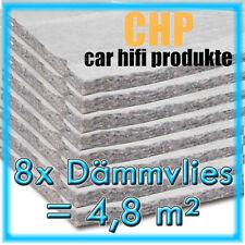 8x dämmvlies 4,8m² autoadesivo CHP 10mm auto isolamento acustico AUTO TAPPETINI 8