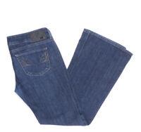 Diesel Jeans Hose W32 L32 blau stonewashed 32/32 Bootcut -B2609