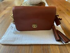 Brown/cognac Coach Crossbody Leather Bag NWT