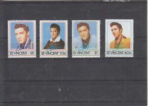 St.Vincent Elvis Presley mnh  Free Shipping