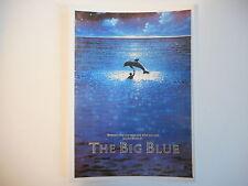 ╬ Port Gratuit ╬ CARTE POSTALE ~ LE GRAND BLEU (THE BIG BLUE) ♫♫ Postcard