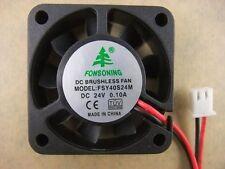 x10 FONSONING FSY40S24M 4010 40mm x10mm Fan 24V  0.10A VGA 2Pin 4709-010