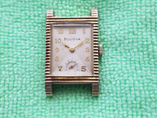Selling a Used Vintage Scalloped Edged Bulova Wrist Watch in a YGF Case........