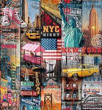 d-c-fix, Selbstklebefolie, Design Manhattan, Rolle 45 x 200 cm  346-0661