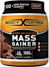 Super Mass BCAA Gainer Chocolate Weight Nutrition Muscle Mass Gain Whey Protein