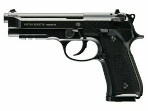 "Used Umarex 2253017 Black Beretta M92 A1 CO2 Air Pistol .177 BB 4.5"" Barrel 310"
