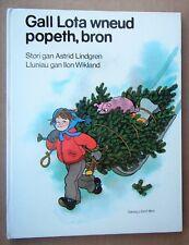 ASTRID LINDGREN GALL LOTA WNEUD POPETH, BRON WELSH LANGUAGE vintage 70s children