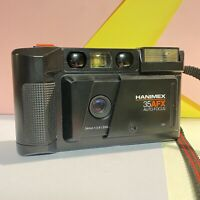Hanimex 35 Afx 35mm Point & Shoot Camera Af F/3.8 34mm Lens Lomo Retro Working