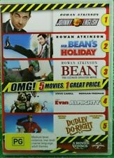 Johnny English Mr Bean's Holiday Bean Movie Evan Almighty Dudley Do-right DVD R4