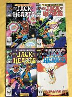 Lot of 4 Jack of Hearts (1984) #1 2 3 4 VF Very Fine