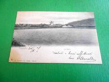 Cartolina Trapani - Le Saline 1907