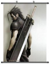 Cloud Strife Final Fantasy VII 7 Home Decor Japanese Wall poster Scroll Anime B