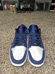 Jordan 1 Low 'USA' 👟 Size 9.5